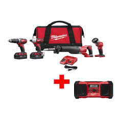 A Tool Shed Morgan Hill California by Milwaukee M18 18 Volt Lithium Ion Radius Site Light 2151 20 The