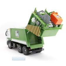 Tomy Big Works Iveco 1:16 Scale Rubbish Collection Lorry Truck ...