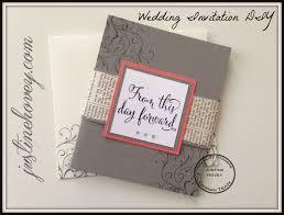 Easy DIY Handmade Wedding Invitations How To