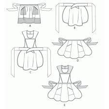 coudre un tablier de cuisine patron couture tablier 2