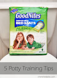 Goodnites Disposable Bed Mats by Top 5 Potty Training Tips U0026 Goodnites Bed Mats Cherished Bliss