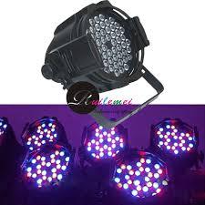 High Power led 3Wx54 RGBW Led Par Can Light Disco DMX DJ Wedding