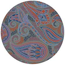 graue edle designer tapete grand paisley mit großem dekorativem blatt muster angepasst an ikea wandfarben