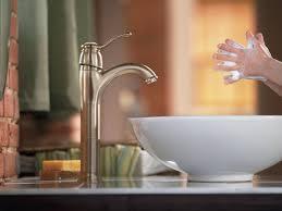 Moen Kingsley Bathroom Faucet Brushed Nickel by Moen 6102bn Kingsley Single Handle Centerset Lavatory Faucet