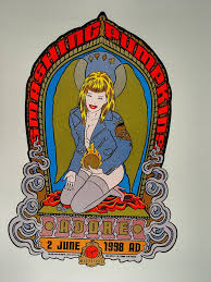 Adore Smashing Pumpkins Vinyl by The Smashing Pumpkins Poster From Virgin Megastore Jun 2 1998