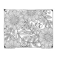 Floral Coloring Page Artist Jennifer Stay Created This Fun To Inspire Your Creativity