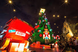 christmas tree lights melbourne rainforest islands ferry