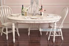 Furniture: Interesting Shabby Chic Dining Table Design Ideas ... Roseberry Shabby Chic French Country Cottage Antique Oak Wood And Distressed White 7piece Ding Set Four Stripy White Blue Shabbychic Ding Chairs Hand Painted Finished In Woking Surrey Gumtree Table Chairs Best Of Ripley Chair Pine Round Room Height Lights Ballad Decoration Tables Balloon Back Antique White French Chic Ornate Ding Table Set With Decor Cozy Slipcovers For Inspiring Interior My Home Room Ideas Chic Diy Shabby Chrustic Chair Basil Chaise