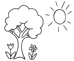 Preschool Spring Season Coloring Pages