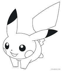 Pikachu Coloring Pages Baby Pokemon Ash And