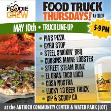Foodie Crew Food Truck May 10 - Antioch On The Move