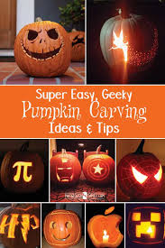Pumpkin Patterns To Carve by Easy Diy Geeky Pumpkin Carving Ideas That Geekish Family