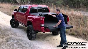 Ionic SE Tonneau Cover Review On A 2016 Toyota Tacoma ... Sema 2015 Atc Truck Covers Rocks The New Sxt Tonneau Cover A Heavy Duty Bed On Toyota Tundra Rugged B Flickr 2016 Hilux Soft Roll Up Load Tacoma How To Remove Trifold Enterprise Truxedo Truxport Vinyl Crewmax 55 Ft Toyota Tundra Alluring Peragon Retractable 1999 Toyota Tacoma Magnum Gear Bakflip Fibermax Parts And Accsories Amazoncom Rollbak Butterfly On Polished Diamon Honda Atv Carrier Sits