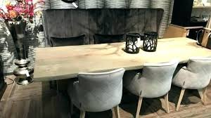 Dining Room Upholstered Benches Table