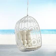 Pier One Papasan Chair Weight Limit by La Fleur White Swingasan Hanging Chair Pier 1 Imports