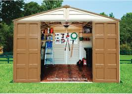 Duramax Storage Shed Accessories by Woodbridge Plus 10 X 8 Vinyl Storage Shed Bettersheds Com