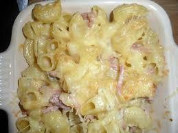recette de le petit plat du dimanche gratin de pâtes aux fromages
