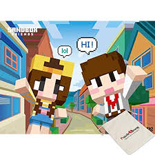 Yearimi Mine Craft Dotty And Jamddle City Captain