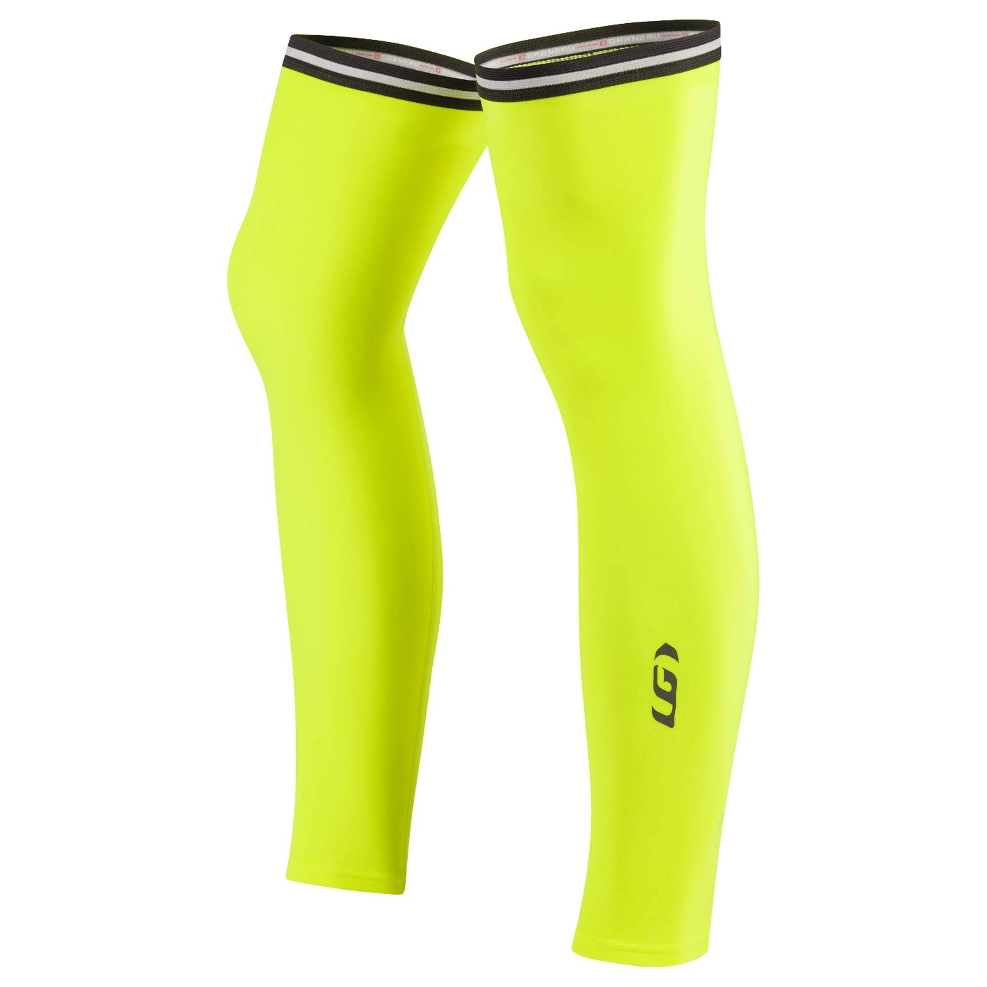 Louis Garneau Cycling Leg Warmers 2 - Bright Yellow, Large
