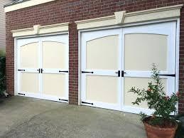 Outswing Garage Door Custom Craftsman Garage Doors Choose The