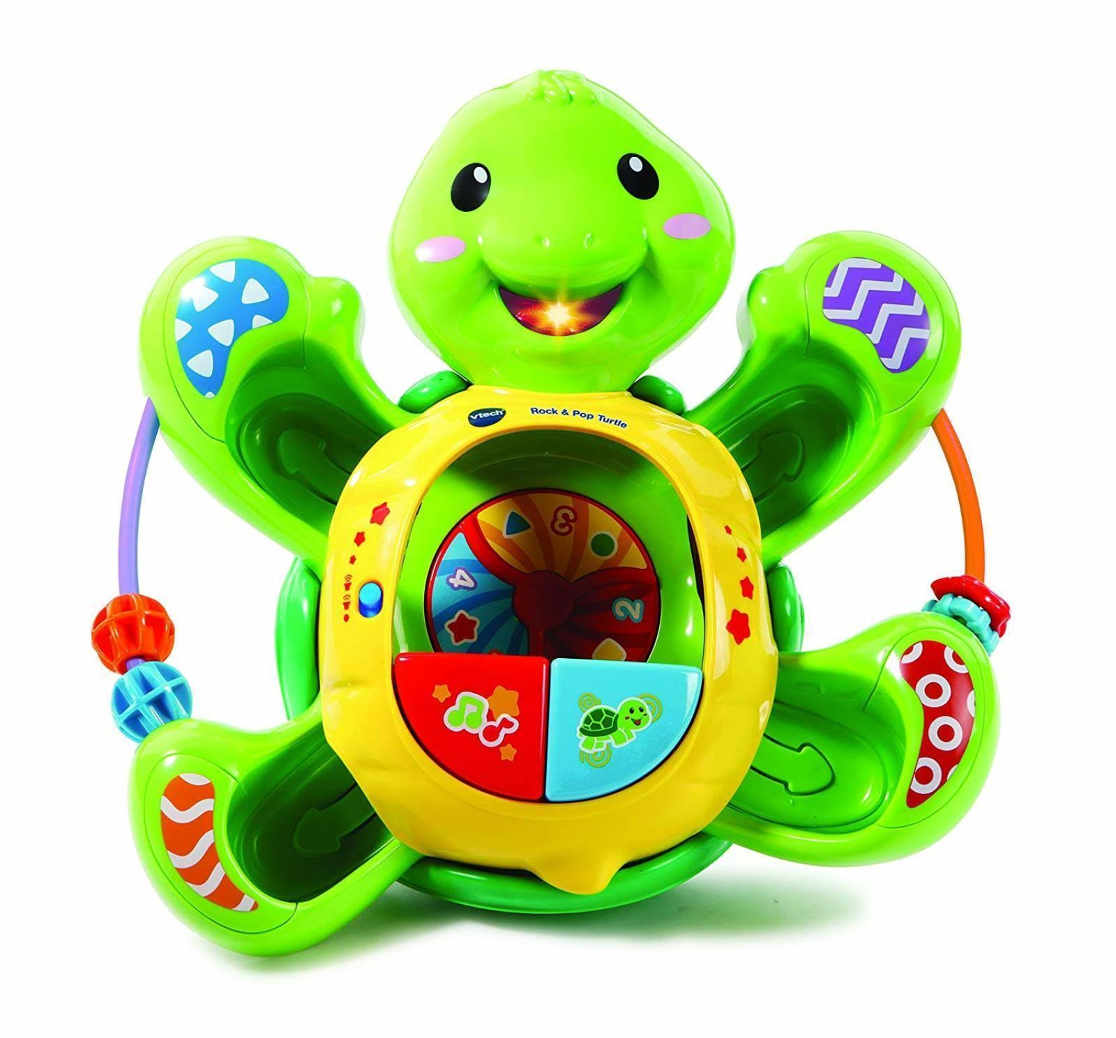 VTech Pop a Ball Rock and Pop Turtle Educational Musical Toy