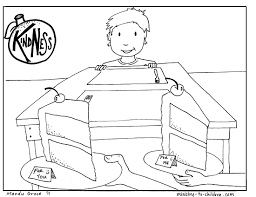 Fruit Of The Spirit Kindness Coloring Pages With Throughout