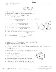 Pumpkin Stages Of Growth Worksheet by Ocean Fun A Parts Of Speech Worksheet For The Little Ones