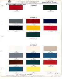 100 Chevrolet Truck Colors 1955 Paint Clipart Free Clipart