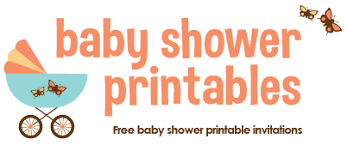 Baby Shower Logo by Baby Shower Invitations Print At Home Theruntime Com
