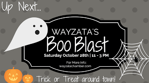 Halloween Things In Mn by Greater Wayzata Area Chamber Of Commerce Wayzata U0027s Boo Blast