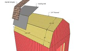 12x16 Barn Storage Shed Plans by How To Build Gambrel Roof For Inspiring Home Design Ideas Pole