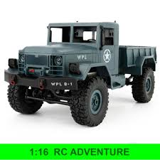Jual RC Adventure Military Truck WPL-B1 1-16 4WD 2.4GHz RTR - Grey ... Hg P407a Rc Climbing Car Yato Pickup Truck Kit Black Jual Jjrc Q60 6wd Offroad Military Inclined Plane Bruder Truck Dodge Ram 2500 News 2017 Unboxing And Cversion Amazoncom Lutema Tracer Overlord 4ch Remote Control Red Rc Bush Devil Ii Wt01 Tamiya Usa Toyota Tundra Has Disco Lights Nostalgia Kicks In Helifar Hb Nb2805 1 16 Truck 4499 Free Shipping Hot Sale 116 4wd Army 24ghz Light Monster Extreme New Bright Industrial Co Blue Wpl C24 24ghz With Headlight Kyamrc S600 122 24g 30kmh High Speed Tamiya Truspickups Trailers Youtube