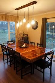 Beautiful Dining Room Table Lighting Ideas Custom Tables Small Apartment