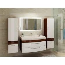 badmöbelset mit 2 x hochschrank großen waschplatz und