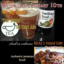 Today, Wednesday, 1-1-18, Ricky's Island... - Smiling Toad Brewery ... Best Restaurants Food And Drink In Raleigh Durham Chapel Duke Cannon On Twitter We Honor Hard Work Many Forms Perhaps The Trucks Are Here Montral Hot Fried Chicken Truck From Acclaimed Chef Debuts Dtown Food Truck Archives Triangle Foodies Spanglish A Total Loss After Fire Streamline 009jpg 1600 X 1200 44 Vintage Travel Behind Wheel Cousins Maine Lobster Wandering 6 Trucks To Know About Right Now Eater Charleston Papa Dukes Mobile Padukesmobile How Todays Stay Rolling Baton Rouge 225