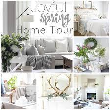 Spring Farmhouse Kitchen Joyful Home Tour