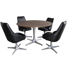 Indoor Chairs. Chromcraft Kitchen Chairs: Kitchen Chairs ... Chromcraft Core C318 Swivel Tilt Caster Arm Chair Tilt Caster Ding Chairs By Castehaircompany C Etteding Table And 6 C177 Chromcraft Ding Room Set Table Chairs Black Chrome Craft Sculpta Set 1960s Sets With Casters Insidtiesorg Inspirational Fniture Kitchen Wheels Home Design Dingoom Il Fxfull Sets With Rolling Modern Indoor Corp 1969 Dinette On Chairishcom In 2019