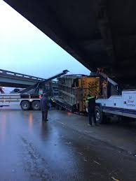 100 Truck Hits Overpass Garbage Truck Hits Overpass At US 90 Local News Stories