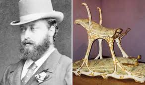 King Edwards Chair by Prince Bertie How Royal Playboy Took Victorian Paris By Storm