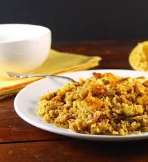 biryani indian cuisine eggless egg biryani holy cow vegan recipes