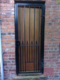 Decorative Security Grilles For Windows Uk by Security Gates For Doors And Security Barriers Installers Mesh