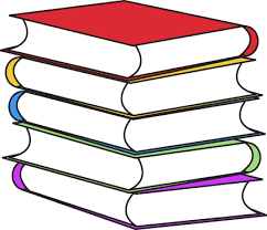 Stack of Books Clip Art Image