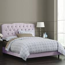 Joss And Main Tufted Headboard by 44 Best Lilac Bedrooms Images On Pinterest Lavender At Home And