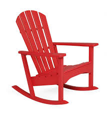 POLYWOOD® Outdoor Adirondack Rocker Charleston Acacia Outdoor Rocking Chair Soon To Be Discontinued Ringrocker K086rd Durable Red Childs Wooden Chairporch Rocker Indoor Or Suitable For 48 Years Old Beautiful Tall Patio Chairs Folding Foldable Fniture Antique Design Ideas With Personalized Kids Keepsake 3 In White And Blue Color Giantex Wood Porch 100 Natural Solid Deck Backyard Living Room Rattan Armchair With Cushions Adams Manufacturing Resin Big Easy Crp Products Generations Adirondack Liberty Garden St Martin Metal 1950s Vintage Childrens
