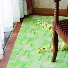 China Decorative Non Slip Pvc Plastic Carpet Roll Foamed Kitchen Floor Mat