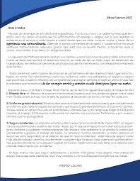 Cartas Del Director Revista Enlace Digital