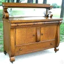 Antique Buffet Table Old Furniture Best Antiques Images On