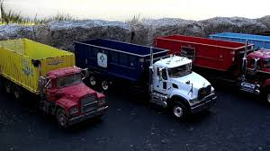 First Gear 1 34 Scale Roll Off Collection Garbage Trucks Youtube ...