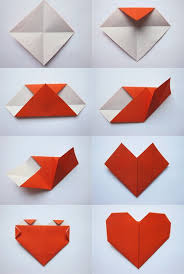 Paper Origami Heart How To Make An A