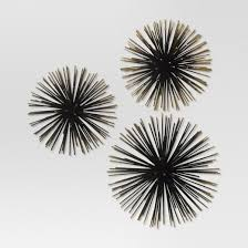 sea urchin wall décor gold project 62 target
